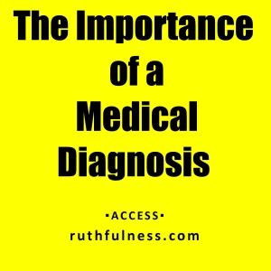imprtance of diagnosis