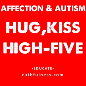 hug,kiss,high five