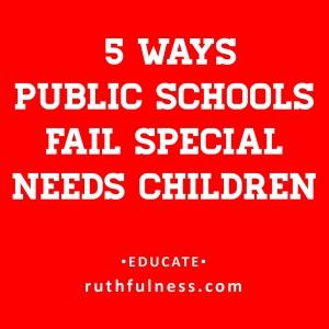5 ways schools fail